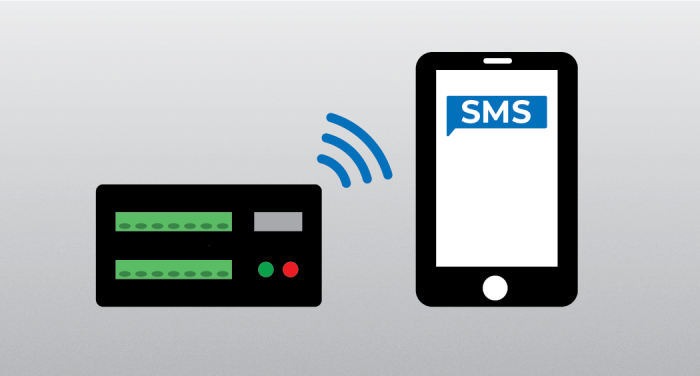 data logger communicating with cell phone via SMSSend()