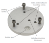 18356 Base and Leveling Fixture (sold separately)