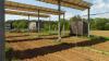 Monitoring of radiation, rainfall, air temperature, and humidity under photovoltaic panels  (CR1000 datalogger, SP1110 radiation sensor, CS215 thermo-hygrometer, 52203 rain gauge)