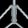 Mast attachment to a tripod base