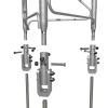 UTHD with UTBASE mounting kit (sold separately)