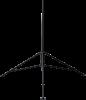 CM106B tripod in black powder-coated finish option