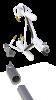 Irgason avec son bras de montage