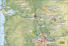 Portland ALERT gage map