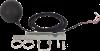Globe noir : capteur de mesure de la température de rayonnement