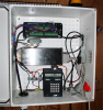 Enclosure with CR10X and MCC low-band radio