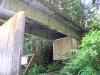 Instrumentation shed beneath Barneston Bridge