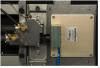 TGA200A laser end of the optical bench