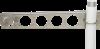 18290 bracket mounted to a pole