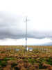 A mesonet station at Eufaula, Oklahoma, <br />is one of 121 automated weather stations <br />that continuously measure weather conditions.