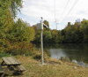 Campbell Scientific system monitoring river level