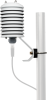 RAD10E and EE181-L attached to mounting pole (all sold separately)