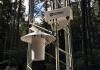 L'une des bouches d'admission de l'AP200 et une des sondes de température à ventilation forcée