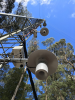 AP200 intakes and temperature probes on the Warra flux tower