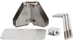cm340 j-bolt pedestal kit for mounting pole