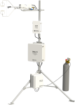 CPEC310 Expandable Closed-Path Eddy-Covariance System with EC155, Pump Module, and Automatic Zero and Span