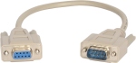35688 rs-232 data cable, db9 female to db9 male