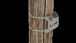 cm345 kit d'adaptation pour grand poteau ou mât pour un bras de montage