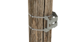 cm345 large pole to mast or crossarm adapter kit