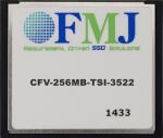CFMC256M 256M CompactFlash Memory Card (-40 to +85C)