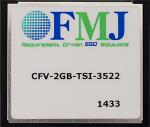 CFMC2G 2G CompactFlash Memory Card (-40 to +85C)