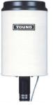 52203 Pluviomètre à auget basculant RM Young (0,1 mm/basculement)