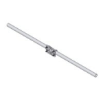 cm204ss 4 ft stainless-steel crossarm with one cm210 mounting kit