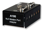 a100 null modem adapter for rechargeable power supplies