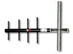 14205 900 mhz 6 dbd yagi antenna with mounting hardware