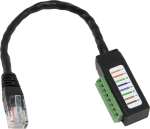 31897 RJ45 Male to Terminal Dongle Data Cable