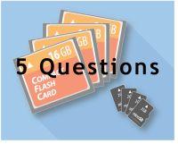 réponses à 5 questions courantes sur le stockage de données sur des cartes mémoire