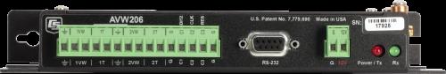 AVW206 900 MHz Wireless 2-Channel Vibrating-Wire Analyzer Module