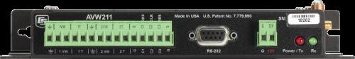 AVW211 922 MHz Wireless 2-Channel Vibrating-Wire Analyzer Module
