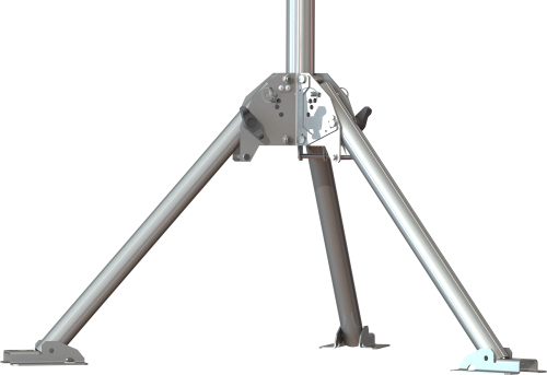 CM350 Pedestal Kit with 23 in. Legs for a Mounting Pole