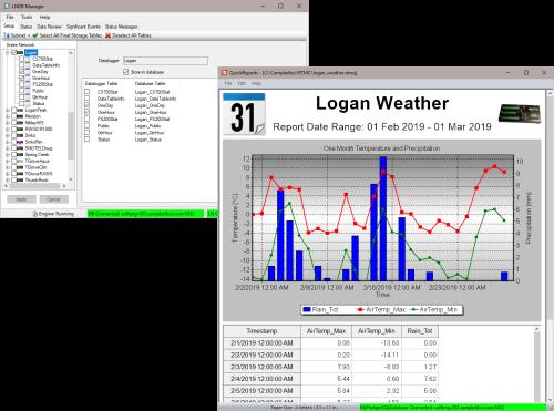 LNDB LoggerNet Database Software