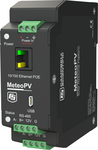MeteoPV Distributed Solar-Resource-Monitoring Platform