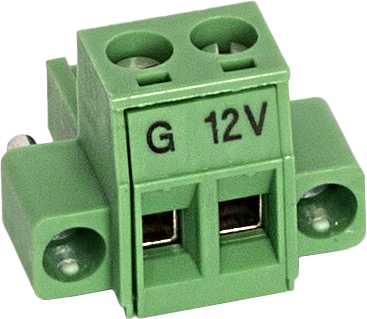 34943 2-Pin Screw Terminal Plug Connector