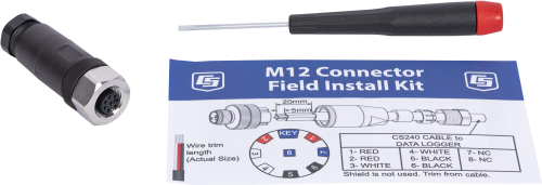 39570 M12 Connector Field Install Kit for CS240 Replacement