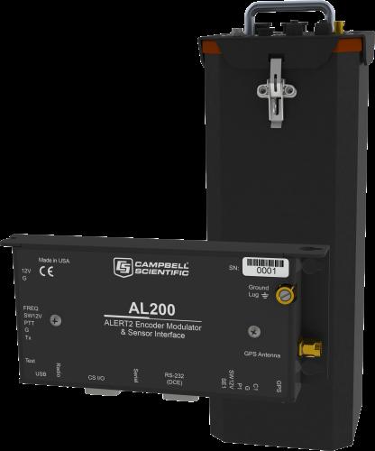 ALERT210 ALERT2 Advanced Remote Data Platform with 6 Sensor Inputs, CR800, and AL200