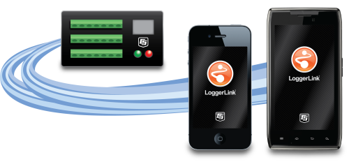 LoggerLink Application mobile pour iOS et Android