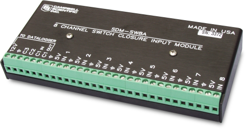 SDM-SW8A Module d'entrée 8 voies à contact sec