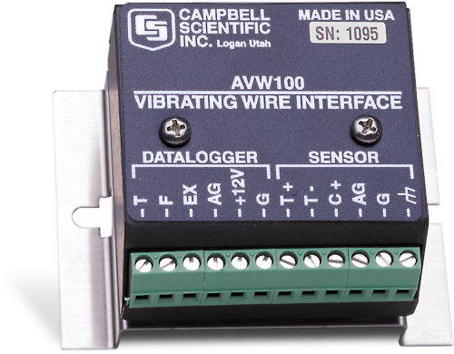 AVW100 Interface for Vibrating-Wire Sensors