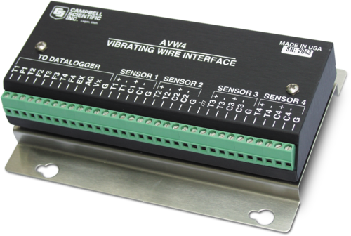 AVW4 Interface for Vibrating-Wire Sensors