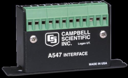A547 Interface pour capteur de conductivité CS547A-L