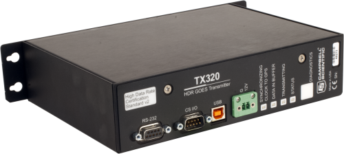 TX320 High Data Rate (HDR) GOES Transmitter