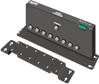 SDMX50SP 50 Ohm Coaxial Multiplexer with Strain-Relief Bracket