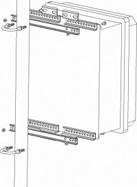 19002 Enclosure Tripod Mast Mounting Kit