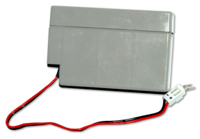 16869 12 V 0.8 Ah Sealed Rechargeable Battery with Connector