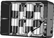 3477 21X Alkaline Battery Base