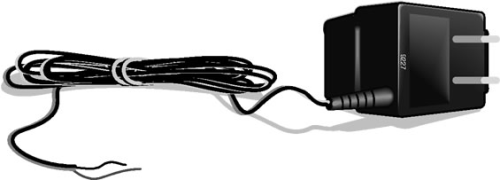 6187 Wall Charger 18 Vdc Output 110 Vac Input, 75 inch Cable